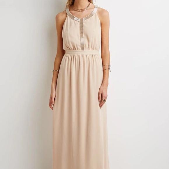 Champagne Chiffon Bridesmaid Dresses